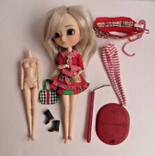 Pullip Doll Ddalgi with extra Obitsu 24 cm Body Original Clothes White Wig