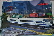 Folleto Märklin Modelos Export 2003,  Español