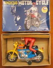 Toy Smoking MotorCycle T.N Automatic Vintage Moto Make Smoke from exhaust pipe
