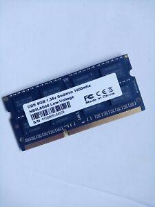 Barrette Ram mémoire DDR3 8Go Sodimm 1600Mhz PC3 8GB 1.35V NB3L8GOO LOW VOLTAGE