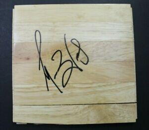 Morlon Wiley Magic Mavs NBA Autographed Signed 6x6 Basketball Floor Tile JSA