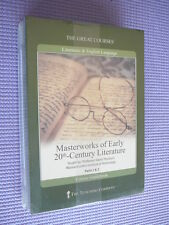 Teaching Co Great Courses DVDs   MASTERWORKS EARLY 20th CENTURY LITERATURE   new