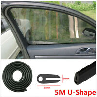 5M Rubber Seal Weather strip Protector Car Door Edge Guards Soft U-Shape 18×10mm