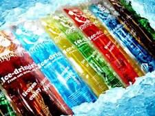 200x Wassereis Stangeneis Stock Crazy Chill Gastroqualität 40ml Beutel #92866