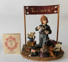 Boyd's Yesterday's Child Magic Show Figurine with Coa 1995