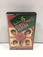 The Jackson 5-The Christmas Album-Cassette 1989- Motown MICHAEL JACKSON