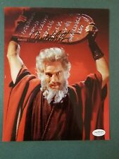 Charlton Heston-signed photo-33bx - JSA