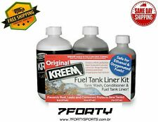 Kreem Fuel Gas Tank Liner Sealer Motorcycle ATV Rust Coating prep Seal Kit -1210