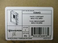 (NEW) EDWARDS IO64G - FIRE ALARM CONTROL PANEL (GREY)