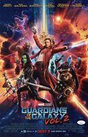 JAMES GUNN Signed 11X17 Photo Guardians Of The Galaxy Autograph JSA COA Cert