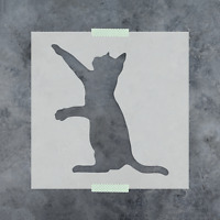 Cat Stencil - Durable & Reusable Mylar Stencils