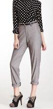 ORIGINAL American Apparel Welt Pocket Pant Slacks Brown Chambray Size 25 / 0