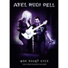 "AXEL RUDI PELL ""ONE NIGHT LIVE"" DVD NEU"