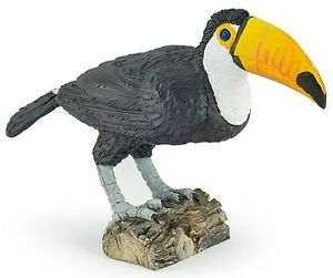 TOUCAN Bird Replica 50216 ~ FREE SHIP/USA w/ $25.+ Papo Figurines