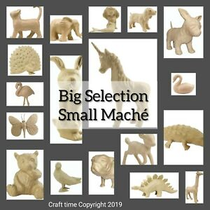 Decopatch Mache Animals, Objects, SA Paper Mache ***BIGGEST SELECTION on EBAY***