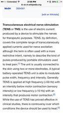 medical equipment tens unit for pain management
