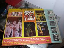 """HTF Motown LP Smokey ROBINSON & The MIRACLES """"AWAY WE A GO-GO"""" ORIG. MONO TAMLA"""