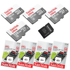 SanDisk Ultra micro SD Speicherkarte 16GB 32GB 64GB 128GB Memory Card 80-100MB/s