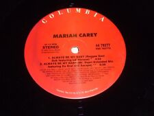 "MARIAH CAREY - Always Be My Baby - 1995 US only 4-track 12"" vinyl single"