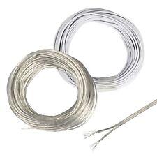 ( 0,599€/ M) 10m Fil Double 2x 0,14 MM ² Mince Câble Pour Modélisme 2-adrig