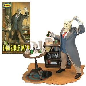 The Invisible Man Model Kit by Moebius Skill Level 3 for standing scale model
