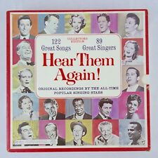 Readers Digest Hear Them Again 122 Great Songs, 10 LP set 1968 Readers Digest
