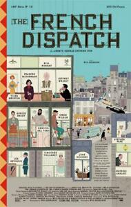 """Home Wall Mural Decor The French Dispatch Movie Poster 18x12 36x24 40x27"""""""