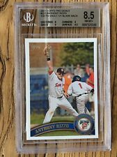 2011 TOPPS PRO DEBUT # 233 ANTHONY RIZZO 1/1 TOPPS VAULT PROOF CARD