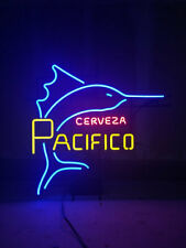 "New Pacifico Cerveza Neon Sign Beer Bar Pub Gift Light 20""x16"""