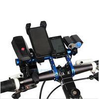 Lenker Extender Erweiterung MTB Fahrrad Handy Lampe Tachometer Halterung Halter