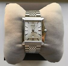 GUCCI G-TIMELESS RECTANGULAR WATCH YA138501 IN EXCELLENT CONDITION.