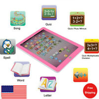 Xmas Sale🌲Baby Tablet Educational Toys Kid For Toddler Learning English Gift