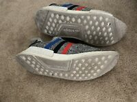 adidas Mens NMD r1 primeknit Gray With Tri Color Stripes. Size 10 NO BOX