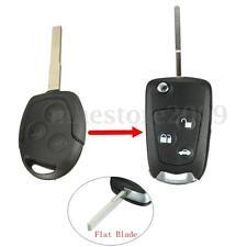Flip Remote Key Shell Case Convert For Ford Mondeo Fiesta Puma Focus Ka Transit