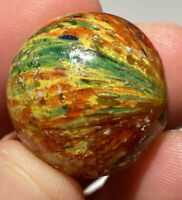 "OUTSTANDING GERMAN Spotty ONIONSKIN Original Marble Beauty 7/8"" Fantastic NM+"