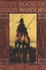 Boys Book of Indian Warriors and Heroic Indian Women * CDROM * PDF