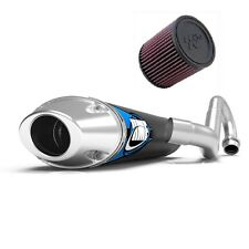 HMF Competition Comp Full System Exhaust Pipe + K&N Air Filter LTR 450 2006-2009