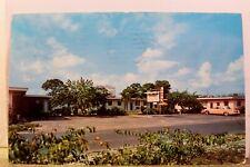Florida FL Opa Locka Cris Cross Motel Postcard Old Vintage Card View Standard PC