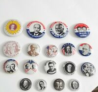 🌈Presidential Campaign pins, buttons,  Lot of 34 Kleenex Tissues 1968🔥