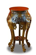 Side Table Mahogany Wood Table Solid Wood Flower Stand Telephone China