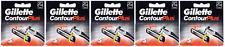Gillette Contour Plus (Gillette Atra Plus) Refill Blade, 25 Cartridges NEW