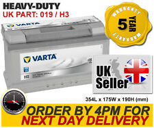 Varta H3 Silver 017/019 Car Battery - Iveco Jaguar Jeep Land Rover Mercedes etc