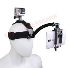 360 Rotary Head Strap+Phone holder+Motorcycle Biking Arm Mount for Gopro 2 3+ 4