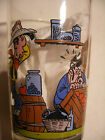 Amora Collection LUCKY LUKE verre à moutarde N°8 French Drinking Glass 1996