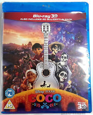 COCO Brand New 3D BLU-RAY (and 2D Blu-Ray) 2017 Disney Pixar Film Region-Free