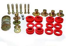Energy Suspension 3.4144R Body Mount Bushing Set (red), 76 - 81 Pontiac Firebird