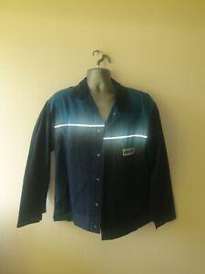 "Ex-rental Welding jacket + bib&braces FR size L 42"" chest, 38"" waist #715-716"