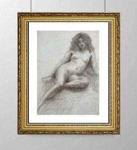 SIMONE BLANC-DEROCQUE (1903-2000) SUPERBE NU FEMININ VERS 1930 (10)
