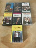 Lot Of 7 Hebrew Music Audio Cassettes