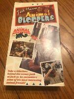 Jack Hanna's Animal Bloopers / Animal Adventures VHS 📼 Ships N 24h